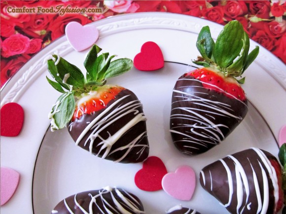 Chocolate Dipped Strawberries. Yes, they are simple!