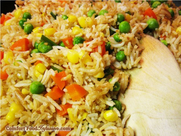 Fried Rice. Classic, simple and delicious.