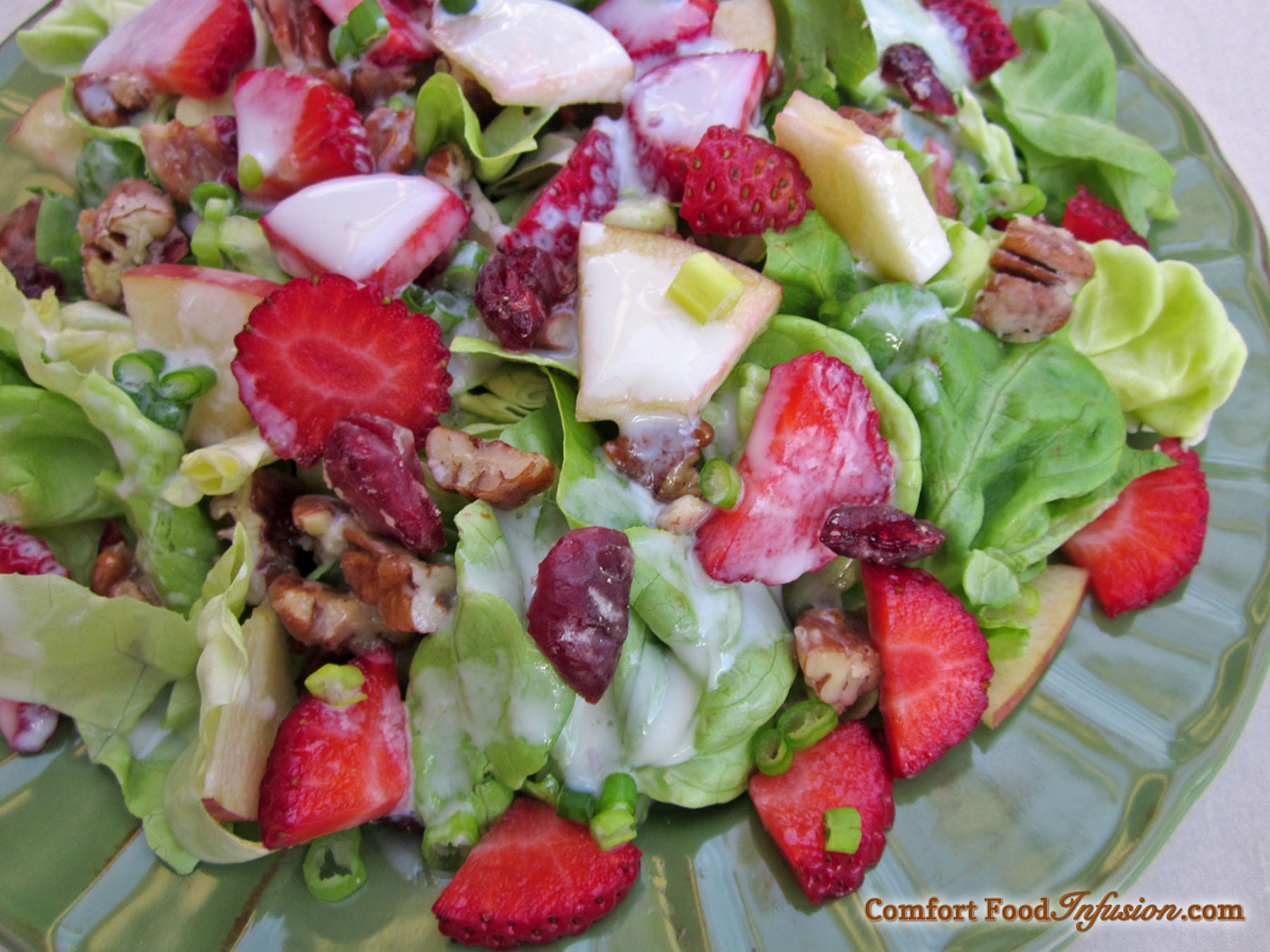 Butter Lettuce Salad with Yogurt Dressing