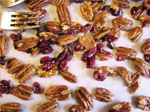 candied pecan prep