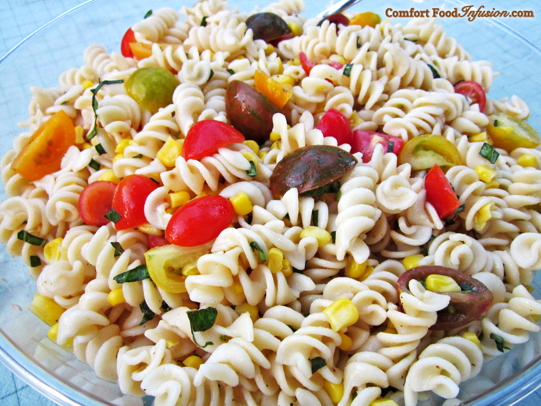 Tomato and Corn Pasta Salad