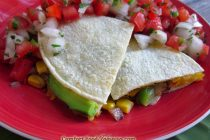 Cheese and Veggie Quesadillas