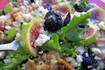 Quinoa Fig Salad with Apple Vinaigrette