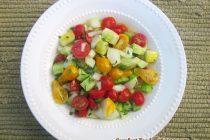 Tomato Cucumber Salad (Salad Shirazi)
