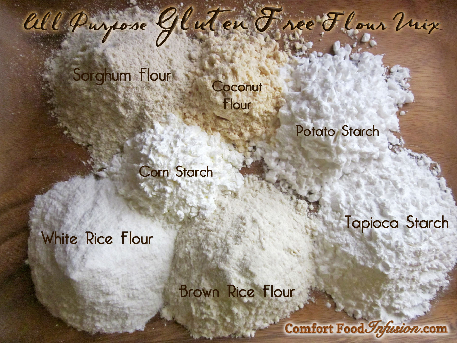 Gluten Free Flour Mix Comfort Food Infusion