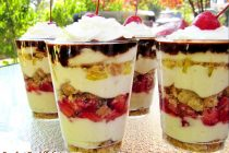 Banana Split Eclair Parfaits