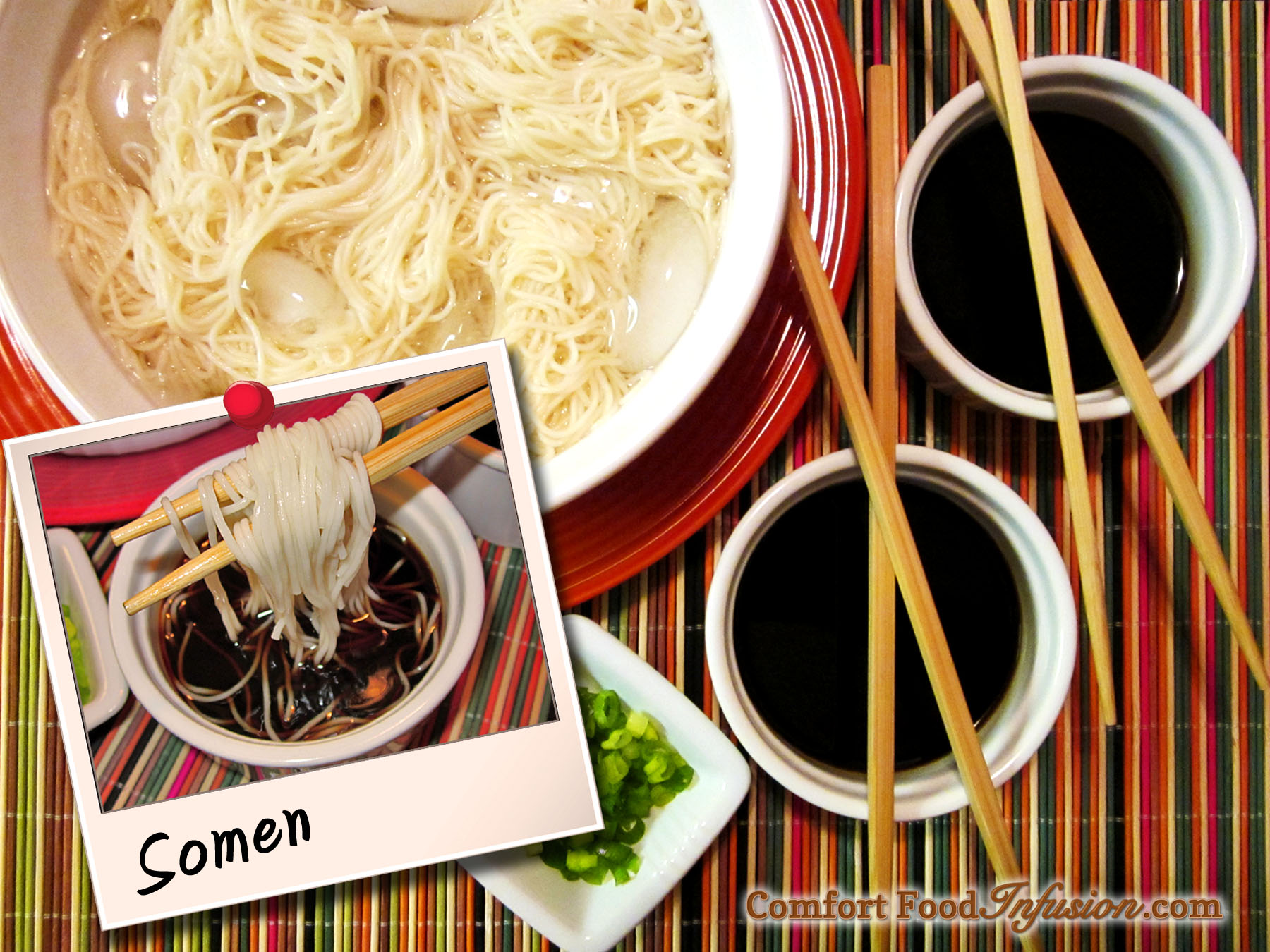 Japanese Cold Noodles (Somen)